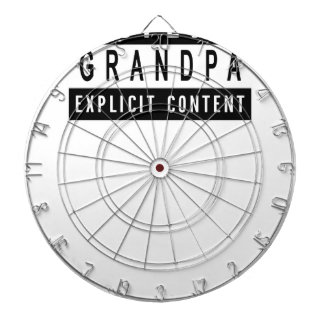 Funny Best Grandpa Ever T-Shirt Perfect Gift Dartboard