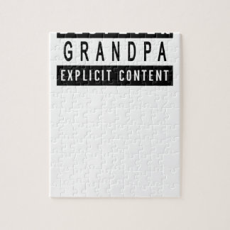 Funny Best Grandpa Ever T-Shirt Perfect Gift Jigsaw Puzzle