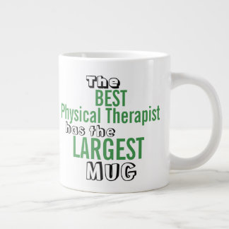 Funny Best PHYSICAL THERAPIST Big Mug Quote