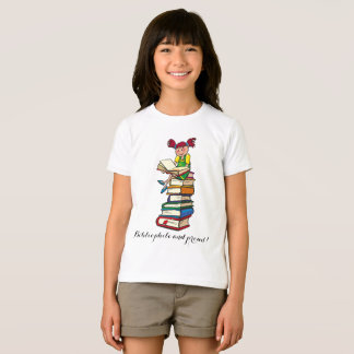 Funny Bibliophile and Proud T-Shirt