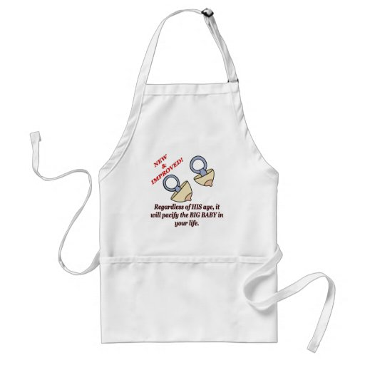 Funny Big Baby T-shirts Gifts Apron
