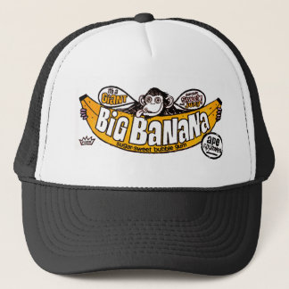 Funny big banana gum trucker hat