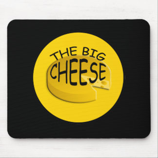 Funny Big Cheese Boss Mousepad