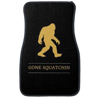 Funny Big Foot Gone Squatchin Sasquatch Car Mat