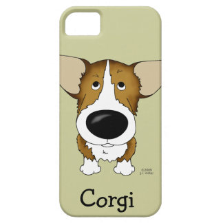 Funny Big Nose Corgi iPhone 5 Case