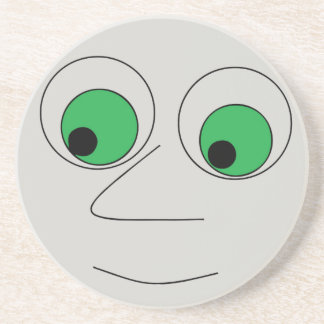 Funny Big Nosed Man Face Coaster