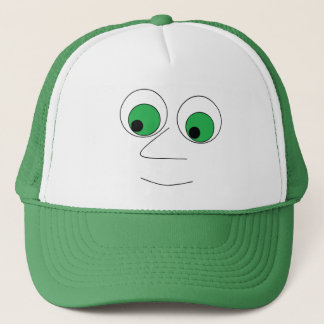 Funny Big Nosed Man Trucker Hat