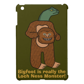 Funny Bigfoot Loch Ness Monster Cover For The iPad Mini