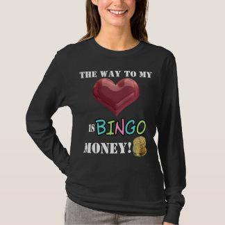 Funny Bingo Money womens gambling t-shirt