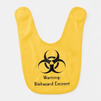 Funny biohazard Geek Stinky Bib