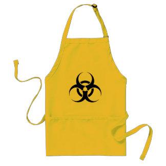 Funny Biohazard symbol chef apron