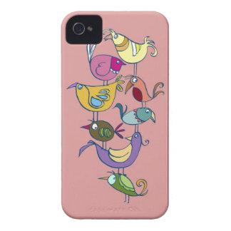 Funny bird iPhone 4 case