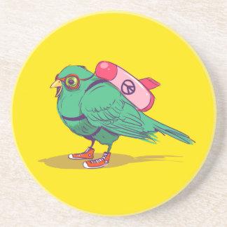 Funny bird coaster