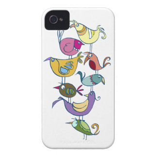 Funny bird iPhone 4 Case-Mate case