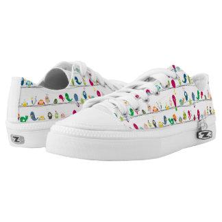 Funny Birds Low-Top Sneakers