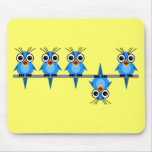 funny birds mousepad