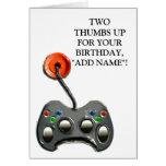 funny birthday card boy