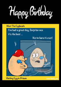 Prison Birthday Cards
