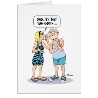 Funny Birthday Card for Hard of Hearing Dad