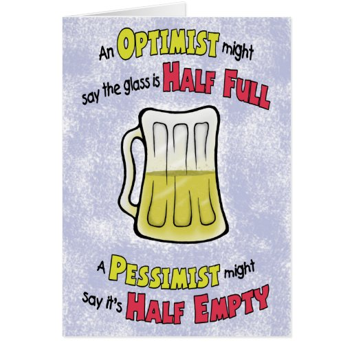 Funny Birthday Cards: Beer Philosophy