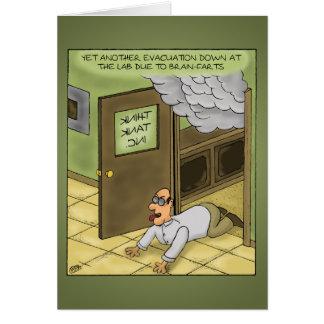Funny Birthday Cards: Birthday is a gas Card