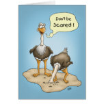 Funny Birthday Cards: Don't Be Scared