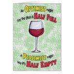 Funny Birthday Cards: Wine Philosophy