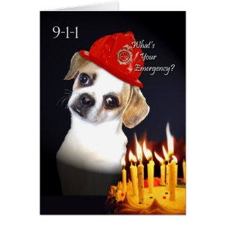 Funny Birthday for Old Friend, Pug Mix Dog Card