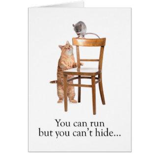 Funny birthday greeting card