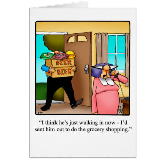 Funny Birthday Greeting Card For Him