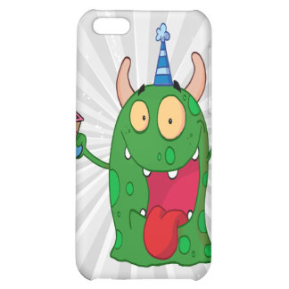 funny birthday monster cartoon character iPhone 5C cover