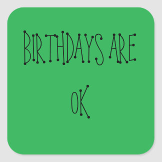 FUNNY BIRTHDAY STICKERS