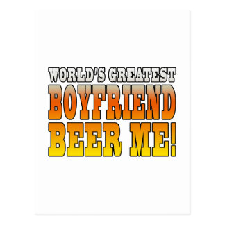 Funny Birthdays Parties Worlds Greatest Boyfriend Postcards