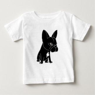 Funny Black French Bulldog Puppy Dog Tee Shirts