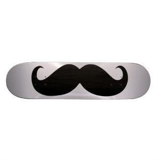 Funny black mustache 12 skate board