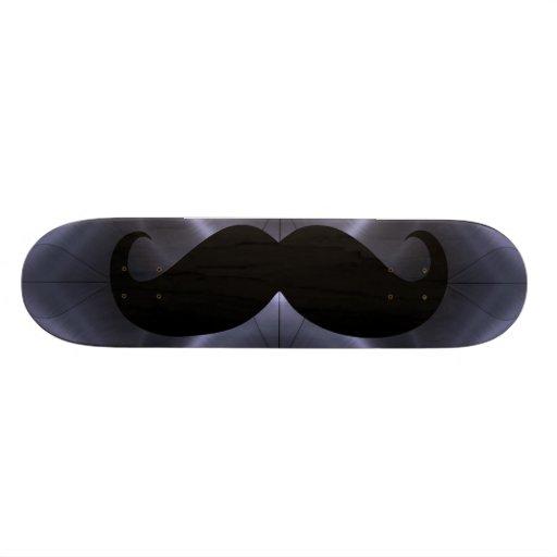 Funny black mustache 18 skateboard