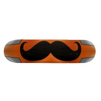 Funny black mustache 2 skateboard deck