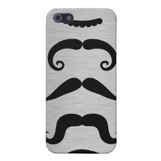 Funny Black Mustache Styles  iPhone 5 Case