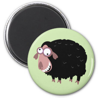 Funny Black Sheep Magnets