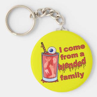 Funny Blended Family Pun Keychains