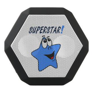 Funny Blue Star Cartoon Speaker