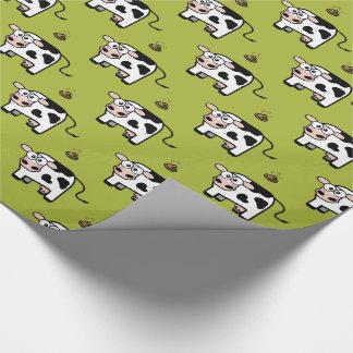 Funny Blushing Pooping Cow Pattern