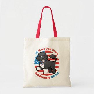 Funny Bobama the Dog 2012 Elections Canvas Bag