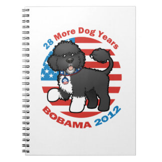 Funny Bobama the Dog 2012 Elections Spiral Note Books