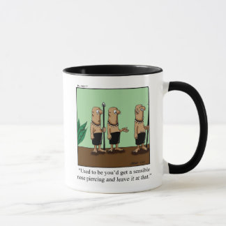 Funny Body Art Humor Mug