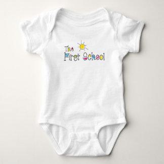 funny body baby bodysuit