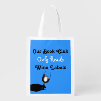 Funny book club amusing blue | Personalized