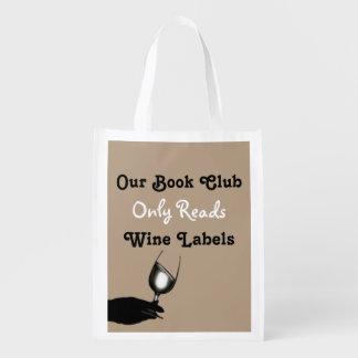 Funny book club humor | Personalized tan