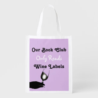 Funny book club sayings | Purple personalized