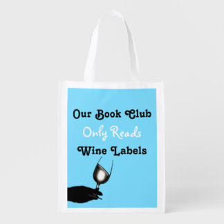 Funny book club wine sayings | Blue Personalized